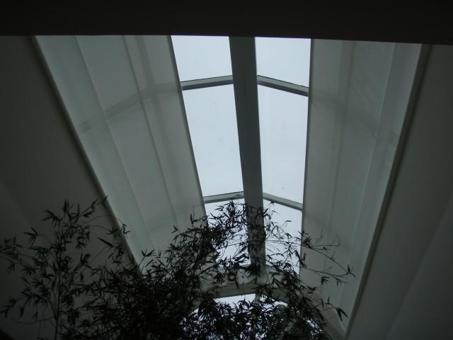 Cortina para teto de vidro sp