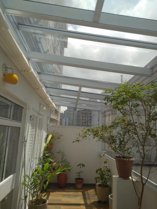 Cortinas para teto de vidro