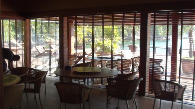 Fábrica de persianas de madeira