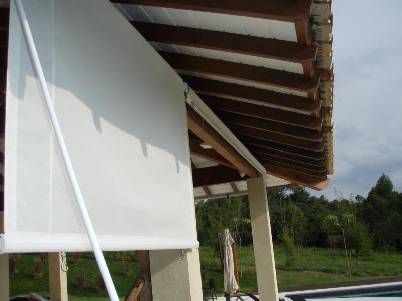Fábrica toldo vertical